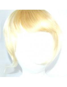 Frange à Clip Blond Platine