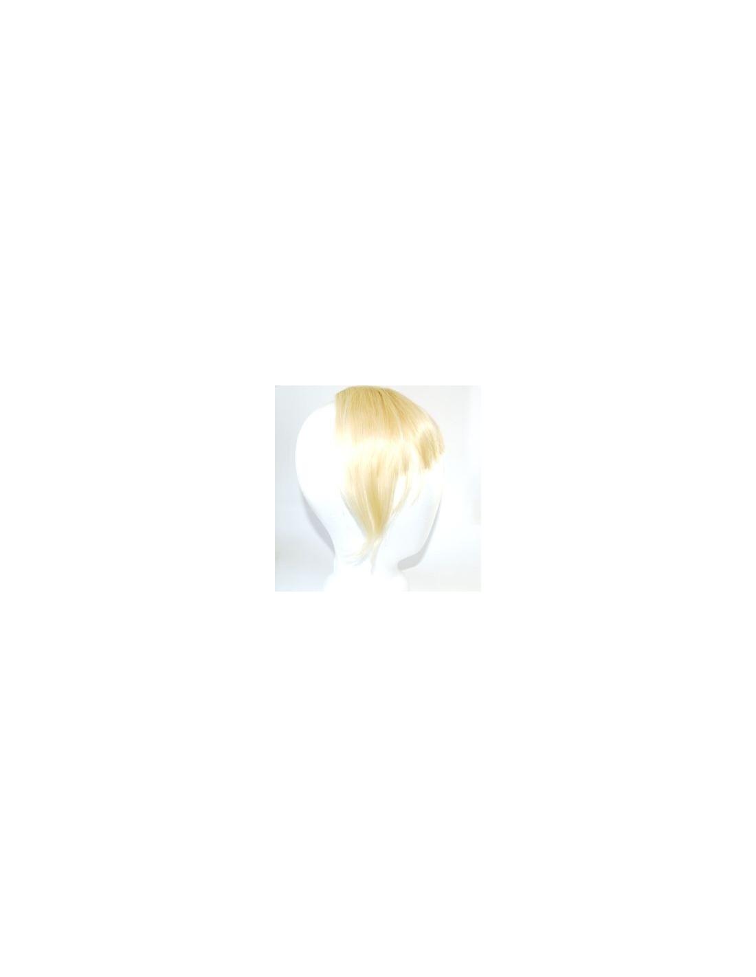 frange clip naturel blonde platine extension clip extens hair. Black Bedroom Furniture Sets. Home Design Ideas