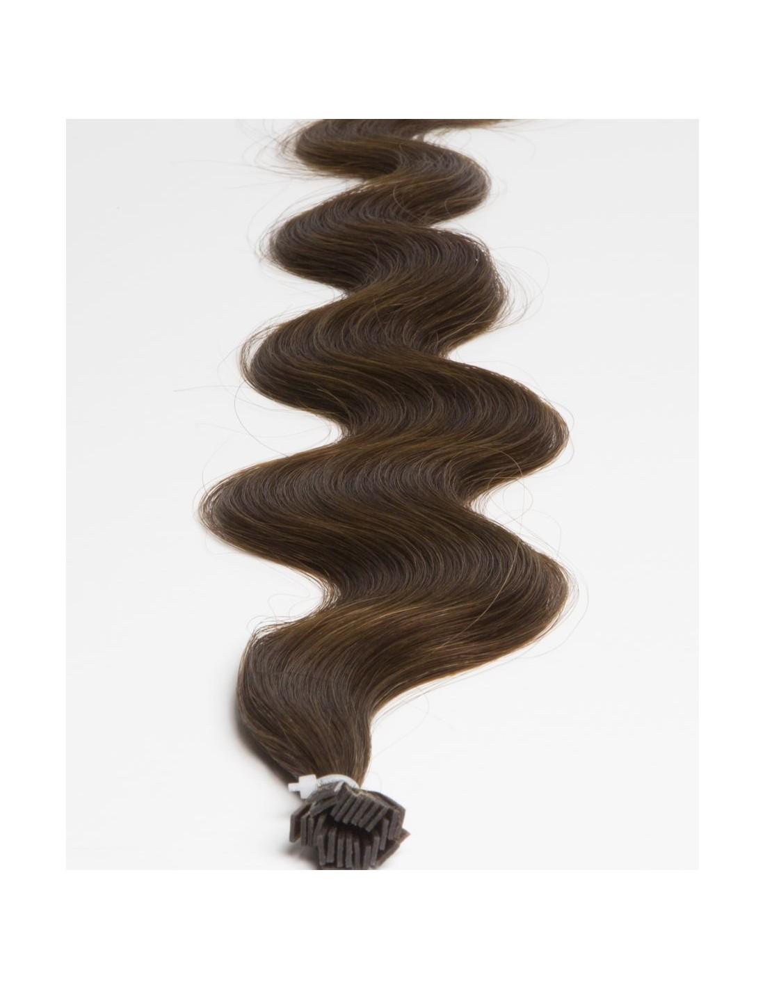 extension chaud cheveux naturels remy brun extens. Black Bedroom Furniture Sets. Home Design Ideas