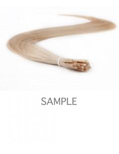 Haarverlängerungen Strähnen zu Probe