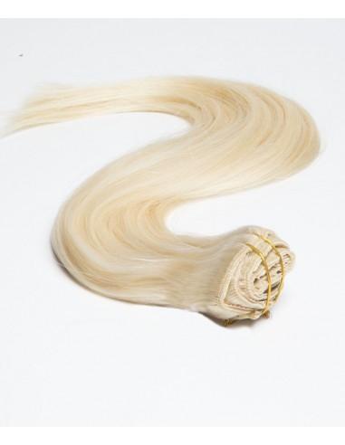 haar clips extensions echthaar platinblond extens hair. Black Bedroom Furniture Sets. Home Design Ideas