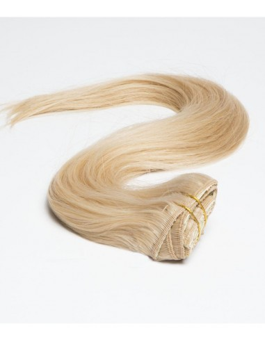 Extension Clip Blond Clair Cheveu naturel