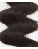 Extension à clip cheveux foncés ondulé