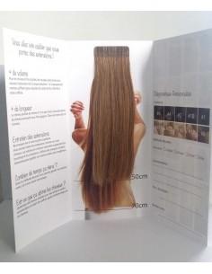 Probe tape extension 100 echthaar extensions cheveux for Extension cheveux salon