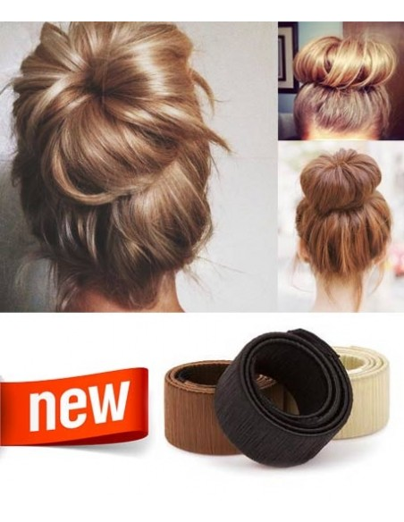 Chignon Facile - EASY SNAP BUN