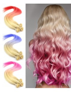 BONDING EXTENSION Tie and Dye crazy flashy farben