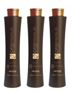 Coffee Premium All Liss – Brasilianisches Profi-Haarglättungsset
