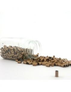 Braun Farbe Microring Extension - Hair Tip 101