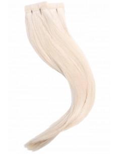 Tape Haarverlängerung platinium blond