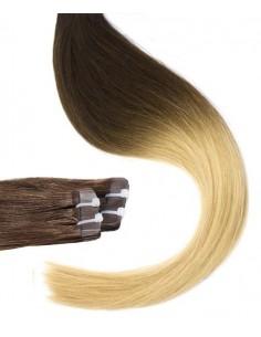 Tape Haarverlängerung ombré hair