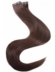 tape haar Haarverlängerung Braun