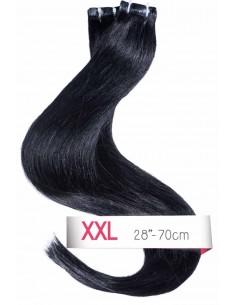 extensions cheveux naturels 70cm noir cheveux naturels