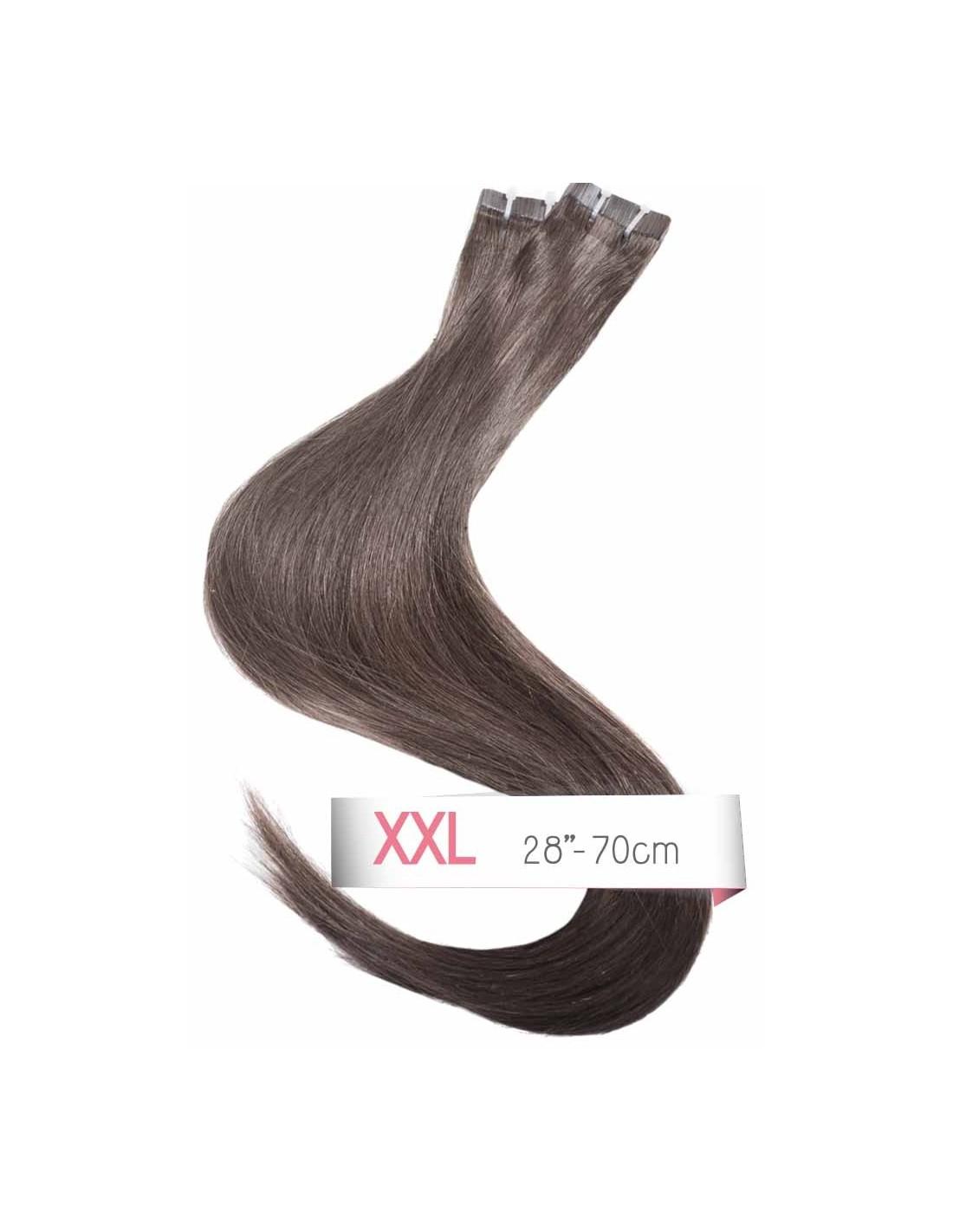 70 cm tape echthaar xxxl profi qualit t remy hair. Black Bedroom Furniture Sets. Home Design Ideas