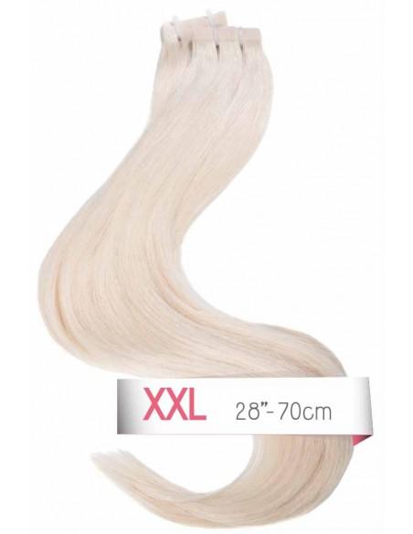 Tape Haarvelängerung Platinium Blond