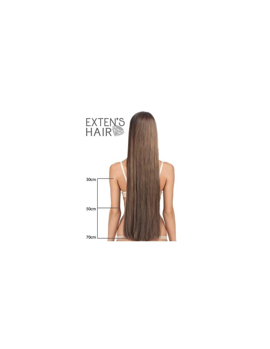 Extension cheveux keratine 30 cm