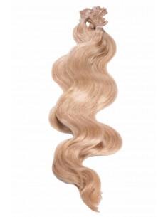 Mèche Naturelle à Chaud grade AAA 50cm blond