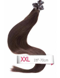 extension keratine Brun Foncé Remy Hair