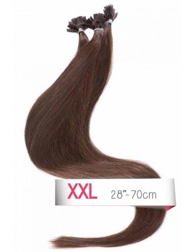 Haarverlangerung 70 cm microrings