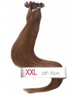 Extension kératine châtain 50 cm