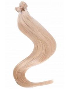 Extension kératine blond clair