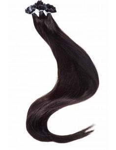 Keratin Haarverlängerungen auss Echthaarsträhnen