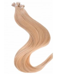 25 Mèches Blond Caramel Cheveux Remy Hair