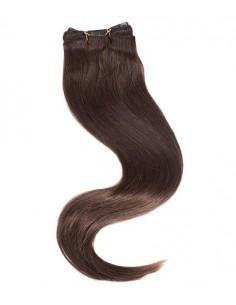 Extension Cheveux Clip Brun foncé