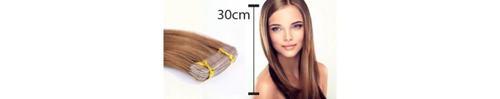 extensions de cheveux 30 cm mi longs extensions cheveux. Black Bedroom Furniture Sets. Home Design Ideas