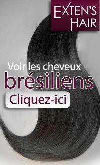 cheveux bresiliens pique lache