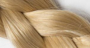 extension cheveu blond clair