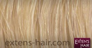 extension de cheveux blond californien