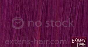 extension de cheveux violet