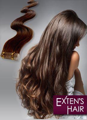 extension cheveux adh sive naturelle exten 39 s hair. Black Bedroom Furniture Sets. Home Design Ideas