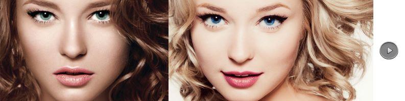 couleurs des extensions de cheveux nuancier