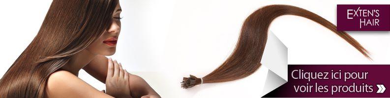 extension à chaud cheveux naturels kératine