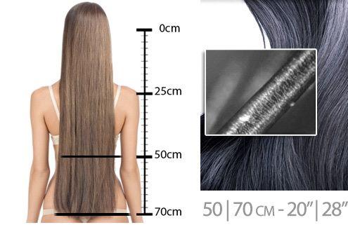 extensions cheveux 50 cm - extension 70 cm