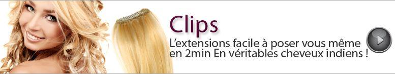 extension cheveux clip pas cher