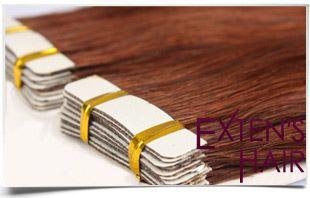 extensions de cheveux en bandes