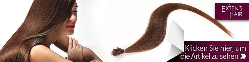 echthaar strähnen extension
