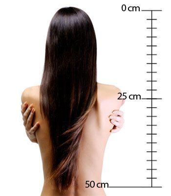 rajouts de cheveux longs