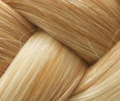 Tape Hair Helles Aschblond