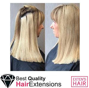 Tape Hair Blond Clair, remy hair bandes à coller