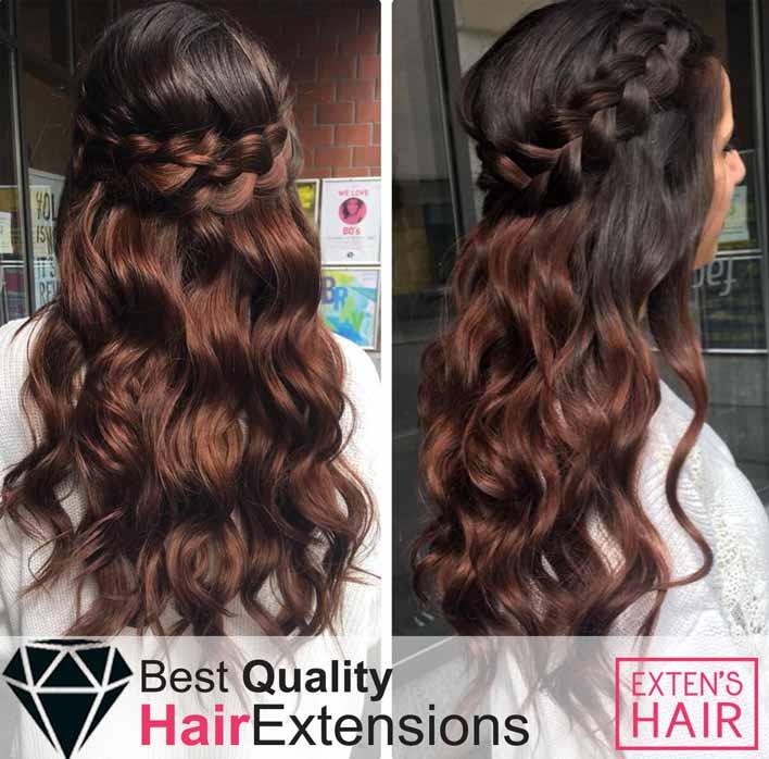 Tape Hair Cheveux naturels Marron #4