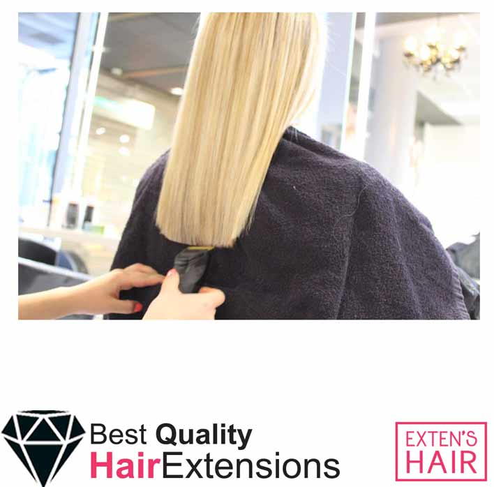 extensions cheveux naturel blond platine tape hair remy hair