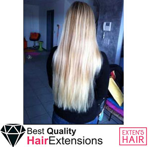 Extensions à Chaud  Blond Patine