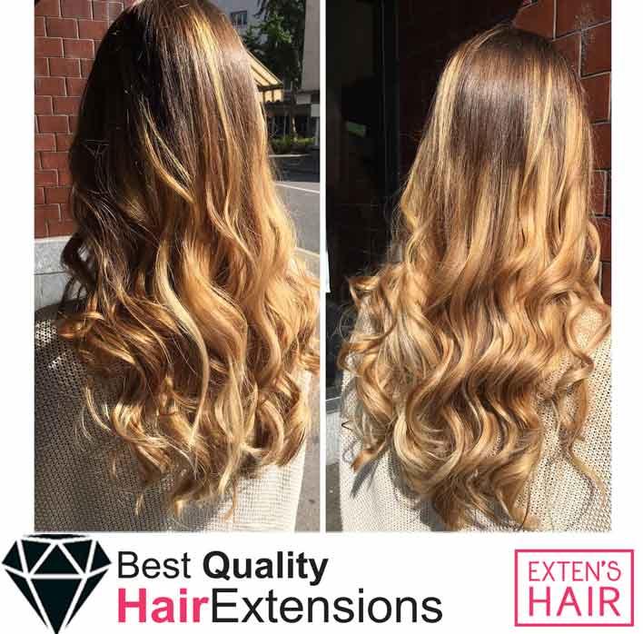 Extensions de cheveux Kératine