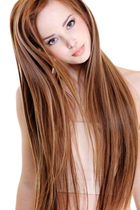 Teinture noisette cheveux