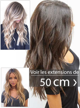 Coupe extension de cheveux