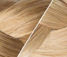 extensions adh�sive tie and dye blondes