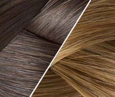25 Ombré Hair Bonding Extension Kastanienbraun